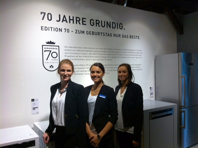 Fair hostesses for Grundig